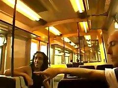 Extreme Public Sex On Train!