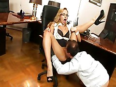Hot Secretary Aleska Diamond