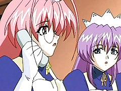 Hentai Maid Providing An Extra Service
