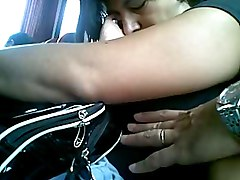 Touch Tit In Bus 2