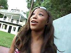 Young Taya Is A Horny Black Bitch