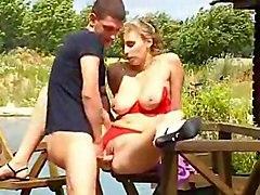 Hot Babe Loving Lake View