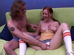 Cute Teen Cheats On Her Boyfriend