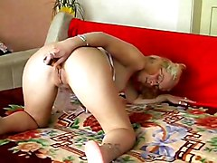 Blonde Is So Alone And Horny