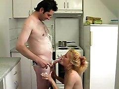 Sperm Games In The Kitchen