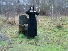 Piss Uk Girl Celeste Flashing Around Carlisle