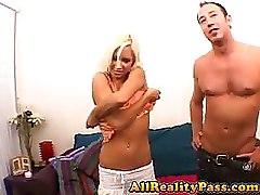 Kacey Wraps Legs Behind Her Head