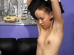 Tiny Tits Asian Sweetie Fucked Straight In Her Asshole