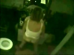 My Mum Masturbates Standing. Hidden Cam In Bathroom