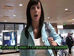 Zeba  From Ftv Girls  Superb Brunette Girl Walking In A Aeroport