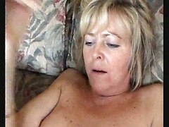 Dirty Mommy In Nylons Gets Her Pussy Licked