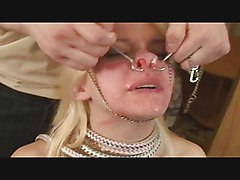 More Facial Torture Fun With A Cute Blonde