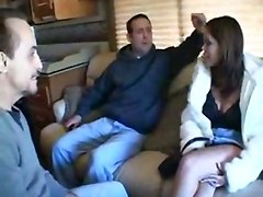 3 Dudes Fuck Gia Paloma On Road Trip