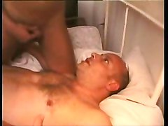 Tranny Cums In His Mouth