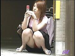 Watching Girls Panties On The Streets Of Tokyo
