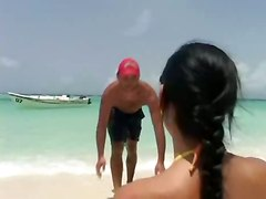 Fantastic  Anal Beach Scene!