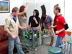 Drunk Student Is Horny