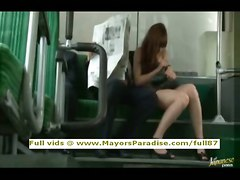 Rio, Asian Model Is Fucked On The Bus