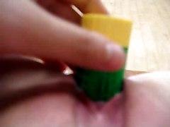Korean Teen Masturbation With Glue