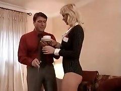 Vivian Schmitt Takes On 2 Big Cocks