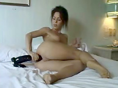 Mature With Big Dildo