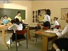 German Schoolgirls Having Fun
