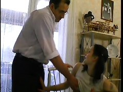 French Teen Blackmails Her Private Teacher