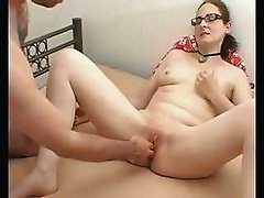 Hot Skinny Girl Gets Her Little Pussy Fisted