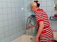 Fun In The Bathroom - All Varieties Of Fisting