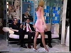 Blonde Visits Italian Men\s Club