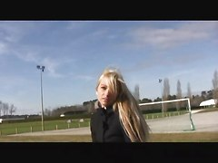 Blond Teen First Video Casting