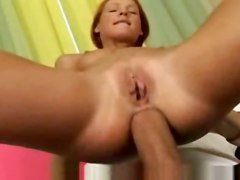 Cute Hot Teen With Tight Asshole