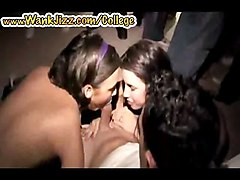 Two Girls Suck Dick In College Party