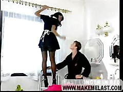 French Maid Gives Hot Service