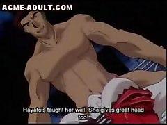 Two Men Use Anime Teen