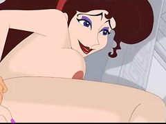 Crazy Ffm Futurama Orgy + Hercules Nails Megara