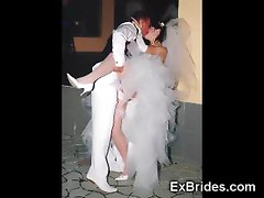 Real Slutty Ex Brides!