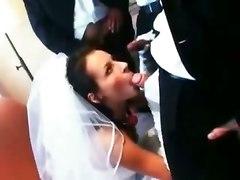 Wedding Day Gangbang For The Lucky Bride