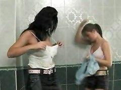 Mad Fucking In The Bathroom