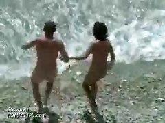 Little Fucking On A Beach