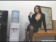 Pantyhose Sex Sativa Rose