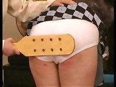Paddle For A Naughty Girl