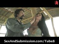 Cecilia Vega & Princess Donna In A Hot Anal Scene Involving Pain!