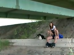 Voyeur Under Bridge