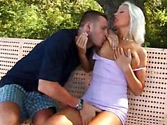 Sexy Italian Doxy Is Entertaining With Her Lover