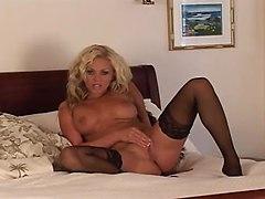 Very Sexy Lingerie Masturbation