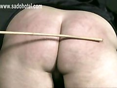 Nun Got Her Panties Down And Shows Cunt And Got Spanked On Her Ass With A Wooden Stick