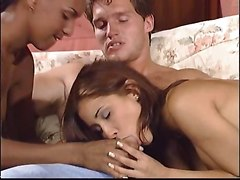 Interracial Threesome Mff - Very Sexy!