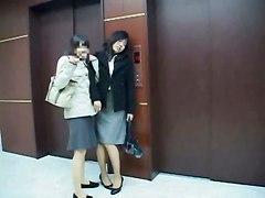 Drunk Business Girl Fucked In Elevator Part 1