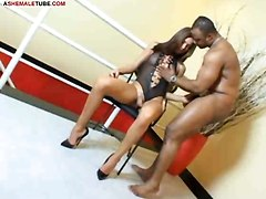 Ass Licking For Tranny Before Hard Anal Sex